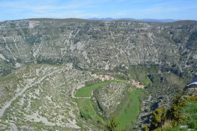 Cirque de Navacelles : Paysage