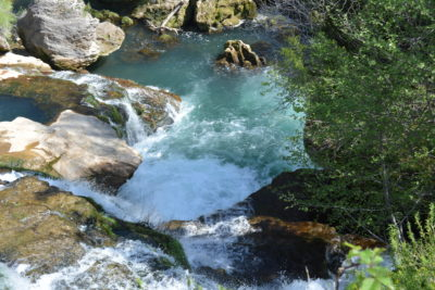 Cirque de Navacelles : La cascade