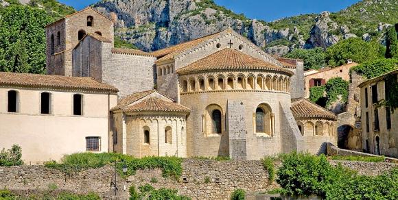 Saint Guilhem Le Désert : L'abbaye