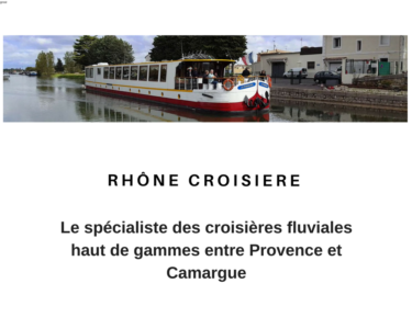 Péniche Rhône Croisère