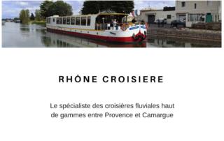 Péniche Rhône Croisière