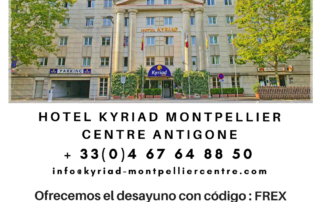 Hôtel Kyriad Montpellier Centre Antigone